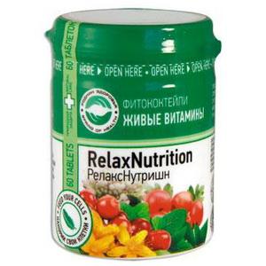 Фитоктейл РелаксНутришн Живые Витамины